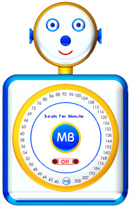 MetronomeBot, the talking online metronome