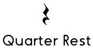 how to write a quarter note with 1 16th rest