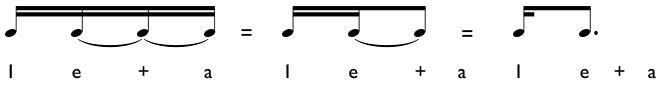 How to subdivide and play sixteenth - dotted eighth note rhythms
